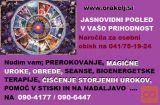 VEDEŽEVANJE-JASNOVIDNI POGLED-POMOČ NA 0904177