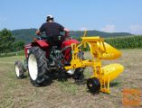 Plug, dvobrazdni, AgroPretex PD25, za traktorje 20-40 KM
