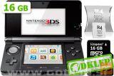 Nintendo 3Ds Črn + R4I Sdhc V2013 + Microsd 32Gb + Sd 2Gb