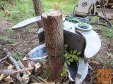 Škarje (klešče, prijemalo) za les, hlodovino