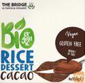Bio rižev desert s kakavom, brez glutena, 4x110 g