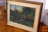 """prodam pastel B. Jakca """"Šmihel"""" , 1932. Velikost 37x51 cm."""