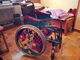 Otroški športni invalidski voziček Meyra