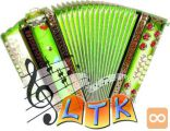 110 pesmi za harmoniko - samostojno učenje frajtonarce
