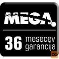 Podaljšanje garancije MEGA serija 2000 na 3 leta