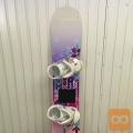 Board deska znamke MORROW z vezmi dolžina 138 cm
