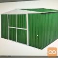 prodam nov pocinkan kontejner zelene barve
