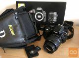 Komplet Nikon D3300 z daljincem, torbicom, kit objektivom...