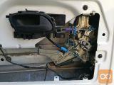 Peugeot Expert mehanizem zadnje desne ključavnice