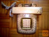 2 kom TELEFONA ISKRA - ETA 85 brezhibna!