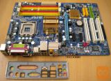 Gigabyte EP31-DS3L(quad podpora)+CPU C2D E8200+cooler+io shi