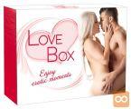 Darilni erotični ljubezenski paket 16 delni Love box
