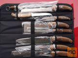 9-delni set kuhinjsko/mesarskih nožev