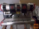 kava aparat ohranjen in ispraven San Marko na dva ročaja.