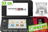 Nintendo 3DS XL rdeč + R4i SDHC v2014 + microSD 32GB + SD