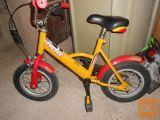 Otroško kolo za otroke 2-6 let in čelada