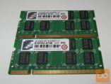 Pomnilnik za prenosni računalnik Transcend 2x2GB DDR2
