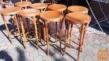barski leseni stoli