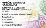 GOTOVINSKI - BANČNI  KREDIT DO 30.000 EUR - VSI PRIHODKI