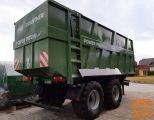 Traktorska prikolica, Brantner TA23071 PP+ (s potisno steno)