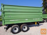 Traktorska prikolica,tandem, Brantner TA14045XXL - NA ZALOGI