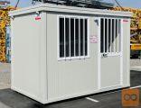 Mobilni gradbiščni pisarniški kontejner 3 m - PRODAJA