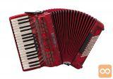 Klavirska harmonika BUGARI Championfisa 115 CH (72 basna)
